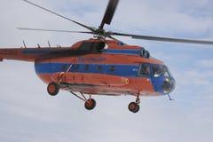 mi-sky för 8 helikopter Arkivbild