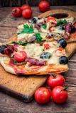 Mięsna pizza Obraz Stock