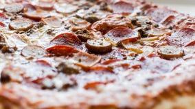 Mięsna pizza Zdjęcie Royalty Free