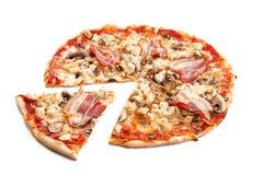 Mięsna pizza Obrazy Stock