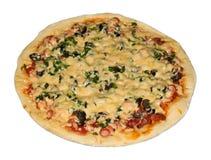 Mięsna pizza Obraz Royalty Free