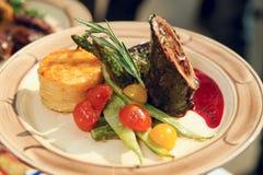 mięsnej rolki warzywa Obraz Royalty Free