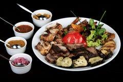 mięsny menu Obraz Stock