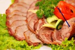 mięsny przecinanie Zdjęcia Stock