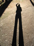 Mi sombra Fotos de archivo libres de regalías