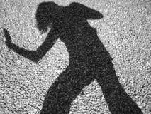 Mi sombra Imagen de archivo