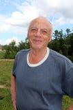 Mi suegro de 83 años Fotos de archivo libres de regalías