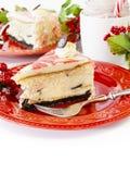 Miętowy Cheesecake Obrazy Stock