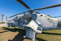Mi-24V  Royalty Free Stock Photos