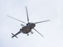 The Mi-8 at the Victory Parade Royalty Free Stock Photography