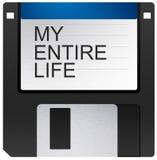 Mi vida entera fotos de archivo libres de regalías