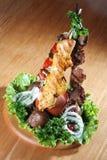 mięso warzyw Zdjęcia Royalty Free