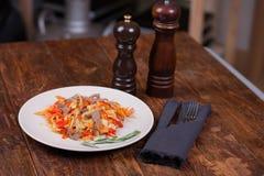 Mięso z warzywami Obraz Royalty Free