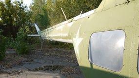 Mi-2 zijn de helikopters bij het behoud op lange termijn stock foto