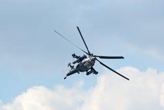 Mi28N直升机 库存图片