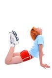 miła dziewczyna fizycznej fitness Zdjęcia Royalty Free