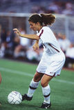 Mia Hamm. Women's soccer star Mia Hamm. (Image taken from color slide stock photography