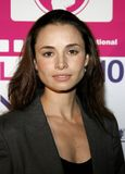Mia Maestro. Attends the LALIFF Screening of `Chagas: A Hidden Affliction` held at the Egyptian Arena Theatre in Hollywood, CA on 10/07/06 Royalty Free Stock Photography