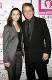 Mia Maestro and Edward James Olmos. Attend the LALIFF Screening of `Chagas: A Hidden Affliction` held at the Egyptian Arena Theatre in Hollywood, CA on 10/07/06 Royalty Free Stock Photos