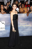 Mia Maestro. At the Los Angeles premiere of 'The Twilight Saga: Breaking Dawn - Part 2' held at the Nokia Theatre L.A. Live in Los Angeles on November 12, 2012 Stock Images