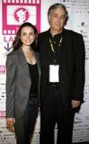 Mia Maestro och Ricardo Preve Fotografering för Bildbyråer