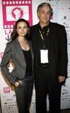 Mia Maestro and Ricardo Preve. 10/07/2006 - Hollywood - Mia Maestro and director Ricardo Preve attend the LALIFF Screening of `Chagas: A Hidden Affliction` held Stock Photo