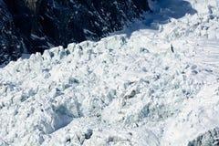 Miage Glacier Stock Images