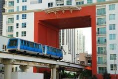 Miami-öffentlicher Transport Stockfoto