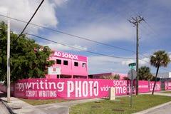 Miami Ad School Royalty Free Stock Photography