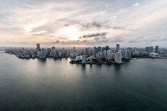Miami from the air Stock Photography