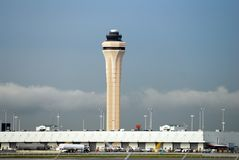 Miami airport tower Stock Image