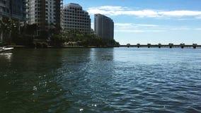 Miami-Ansicht, Schlüsselbereich Brickell stock video