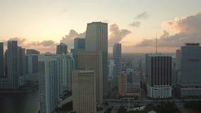Miami-Antenne stock video footage