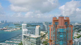 Miami-Antenne stock footage