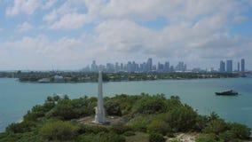 Miami-Antenne stock video