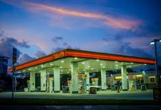 Miami antes do furacão Irene foto de stock royalty free