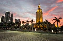 Miami architecture Stock Photos