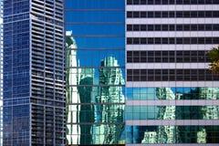 Miami-Architekturkontraste Stockfotos