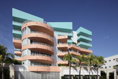 Miami Art Deco Royalty Free Stock Image