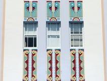Miami-Art Deco Lizenzfreie Stockbilder
