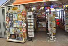 Miami, am 9. August: Bayside-Einkaufszentrenspeicher von Miami in Florida USA stockfoto