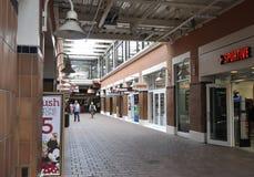 Miami, am 9. August: Bayside-Einkaufszentrum von Miami in Florida USA stockbild
