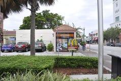 Miami, am 9. August: Kleine Havana Community Domino Park von Miami in Florida USA Lizenzfreies Stockbild