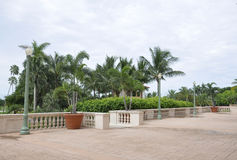 Miami august 9th: Balkong för hotell Biltmore & klubbhusfrån Coral Gables av Miami i Florida USA Royaltyfria Foton