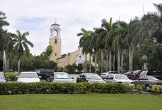 Miami,august 9th:Church from Coral Gables of Miami in Florida USA Royalty Free Stock Images
