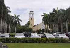 Miami,august 9th:Church from Coral Gables of Miami in Florida USA Royalty Free Stock Photo