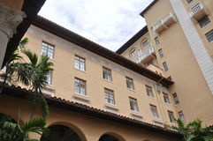 Miami august 9th: Hotell Biltmore & klubbhus från Coral Gables av Miami i Florida USA Royaltyfria Foton