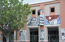 Miami,august 9th: Little Havana community Art Museum from Miami in Florida USA Stock Photo