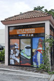 Miami,august 9th: Little Havana Community Travel Center building from Miami in Florida USA Stock Photo