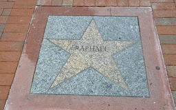 Miami,august 9th: Little Havana Community Walk of Fame from Miami in Florida USA Stock Photography